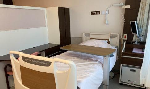 東京衛生病院の大部屋の様子