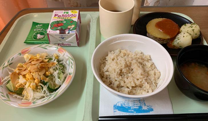 東京衛生病院の食事