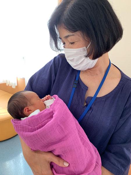 東京衛生病院の出産記録。赤ちゃんがやってきた。