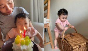 1歳の誕生日。翌日。