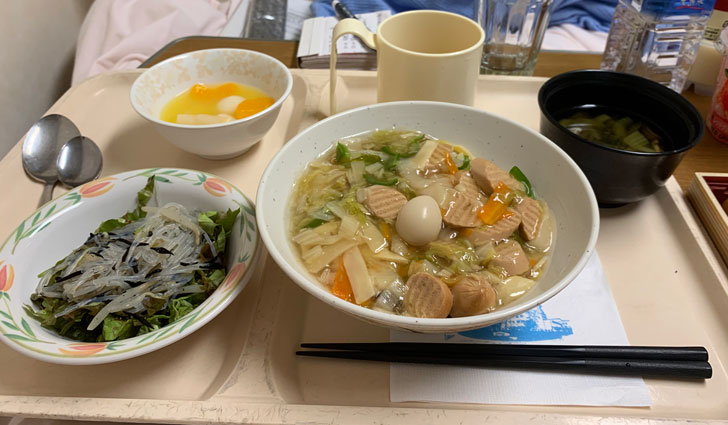 お昼に出された食事