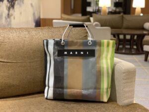 マルニのストライプバッグをレビューしてみました。